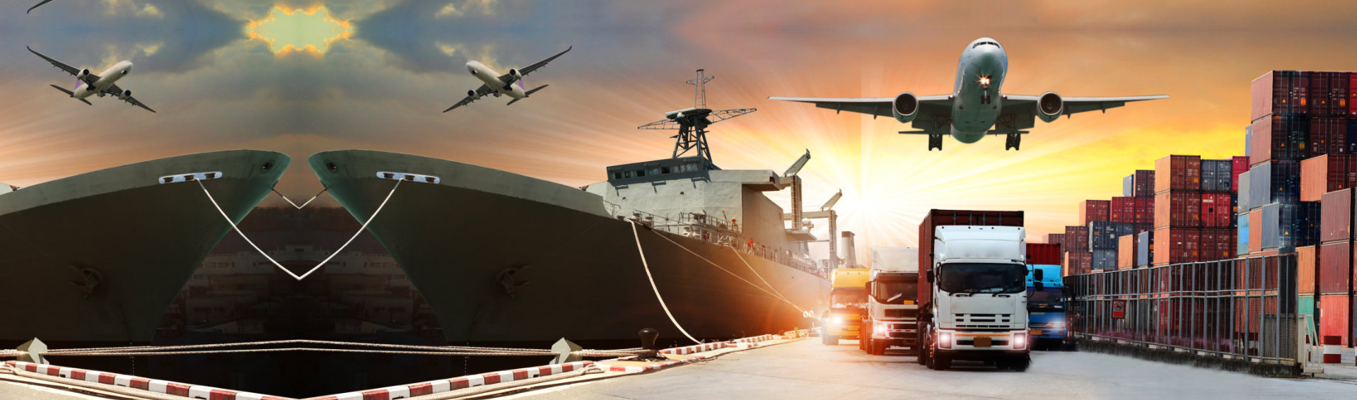 import and export concept
